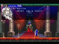 Castlevania - Simphony of the night - Allucard Vs dracula