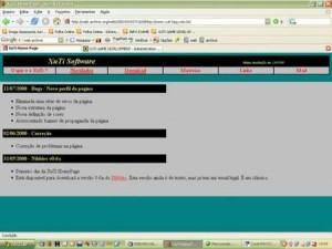 XuTi Game Development Website - 1999/2001
