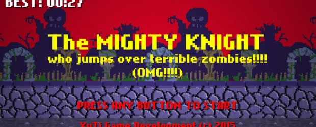 TweetThis is the new XUTI game! The Mighty Knight who jumps over Terrible Zombies!!!! Avaliable on PLAY STORE. Apple Store: […]